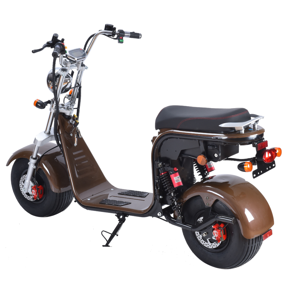 European Warehouse Stock Electrical Scooter fat tire motorcycle E Bike Electric bicycle city coco 1500w 2000w Citycoco eec ATV