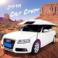 New product idea 2018 SUNCLOSE waterproof car cover with logo print