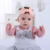 Cotton Floral Knot Bow Hairbands Wholesale Cheap Baby Headbands