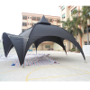 3m Japan black spider event tents, commercial dome tents for trade show