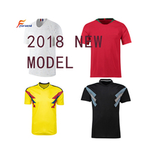 2018 New Soccer Jersey Modell Hight Quality Stock Adulte Damen Kinder