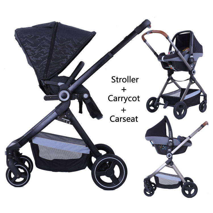 Baby trolley china hot selling poussette trio bebe confort aluminium stroller фото