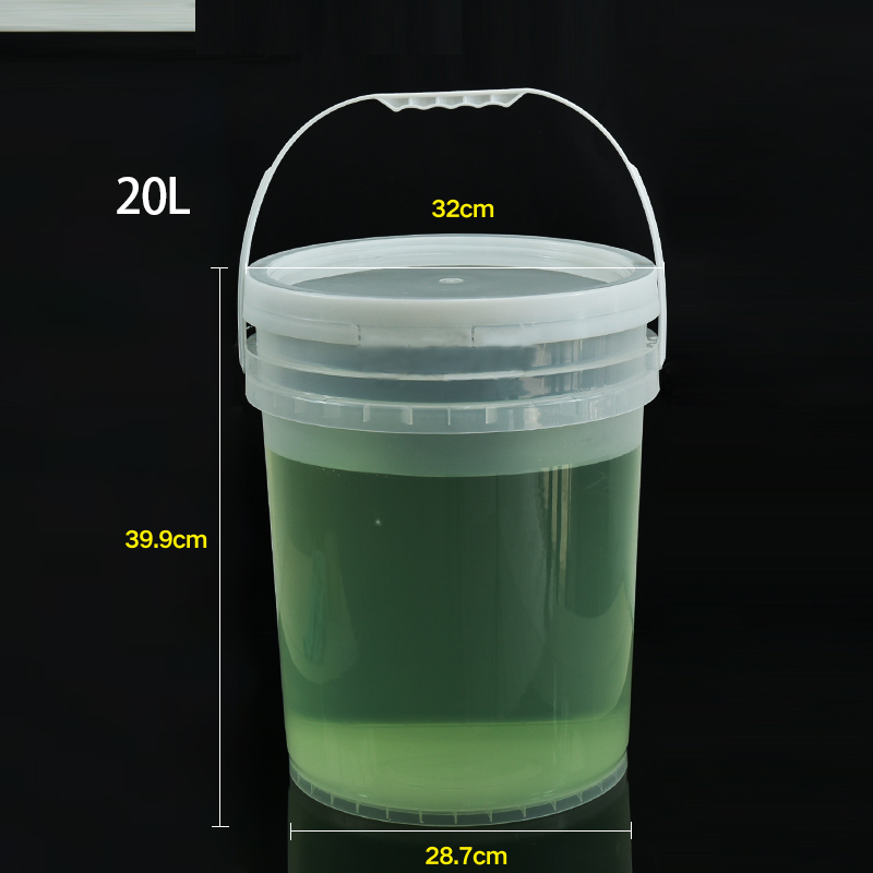 20L Tap 5 Gallon Multi-Functionele Coaches Emmer Cooling Vaatjes Streep Plastic Container