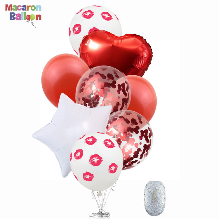 Red Love Heart Balloons - <strong>Valentine</strong> <strong>Day</strong> Decorations and <strong>Gift</strong> Idea <strong>for</strong> <strong>Him</strong> or Her - Wedding Birthday Decorations KK257