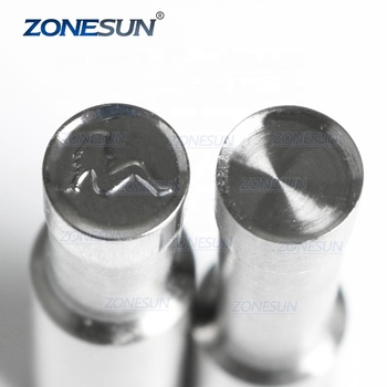 ZONESUN Girl Logo Custom Candy Milk Tablet Slice Die Stamp Precision Punch Die Mold Sugar Tablet Press Tool Tdp 0/1.5/3