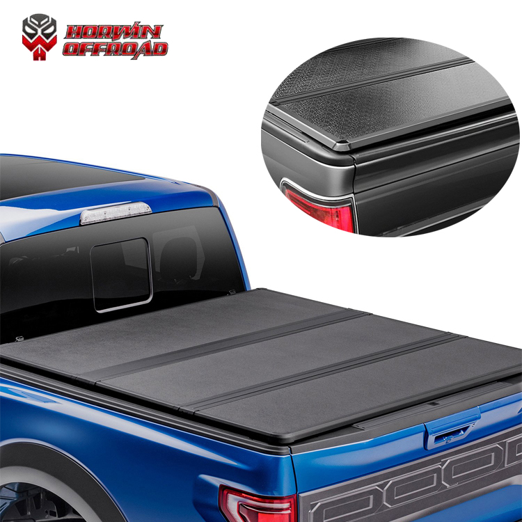 Aluminium Hard Solid Three Folding Trifold Tri Fold Tonneau Cover Roll Up Truck Bed Auto Parts Buy Tonneau Cover Tri Fold Tonneau Cover Roll Up Truck Bed Product On Alibaba Com