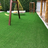 Real Touch Durable 35mm Decorative Artificial Grass Landscape