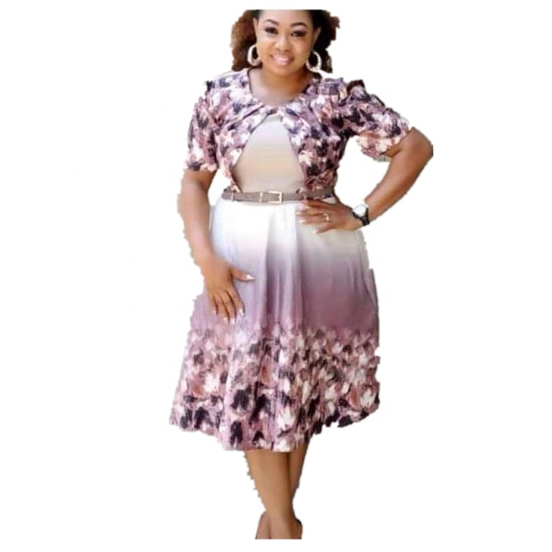 Latest African Kitenge Designs 2019 New Ladies Frocks Women Fashion Short Sleeves Floral Dress Buy At The Price Of 22 06 In Alibaba Com Imall Com
