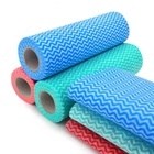 BSCI ISO9001 Spunlace cleaning non woven /non-woven cleaning cloth roll / nonwoven fabric cloth