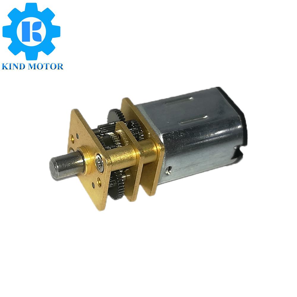 DC6V 9V 12V 15V 24V Plastic Gear Synchronous Reduction Gear Brushless AC Motor