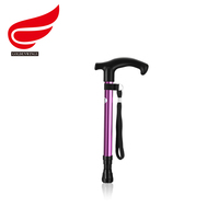 Telescopic Aluminium Alloy Walking Stick Holder For Old People Walking