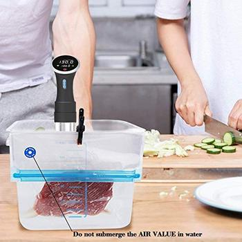 Sous Vide Bags 30 Reusable Vacuum Food Storage Bags Sous Vide Bag Kit BPA Free Vacuum Sealer Bags for Home Kitchen Cooking