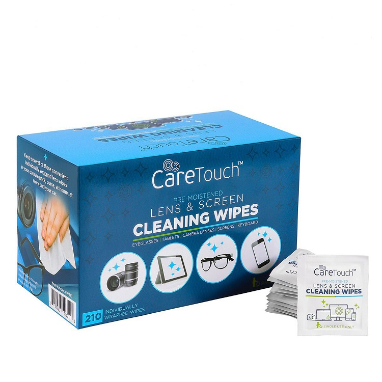 Lens cleaning wipes, Antibacterial Cell Phone Cleaning Wet Wipe