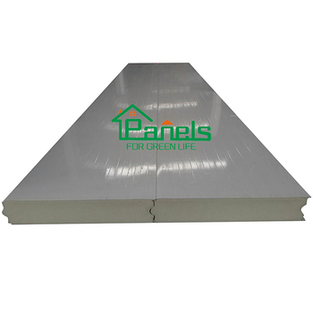 Fating surface pu sandwich panel polyurethane board slaughtering made in china cold room storage