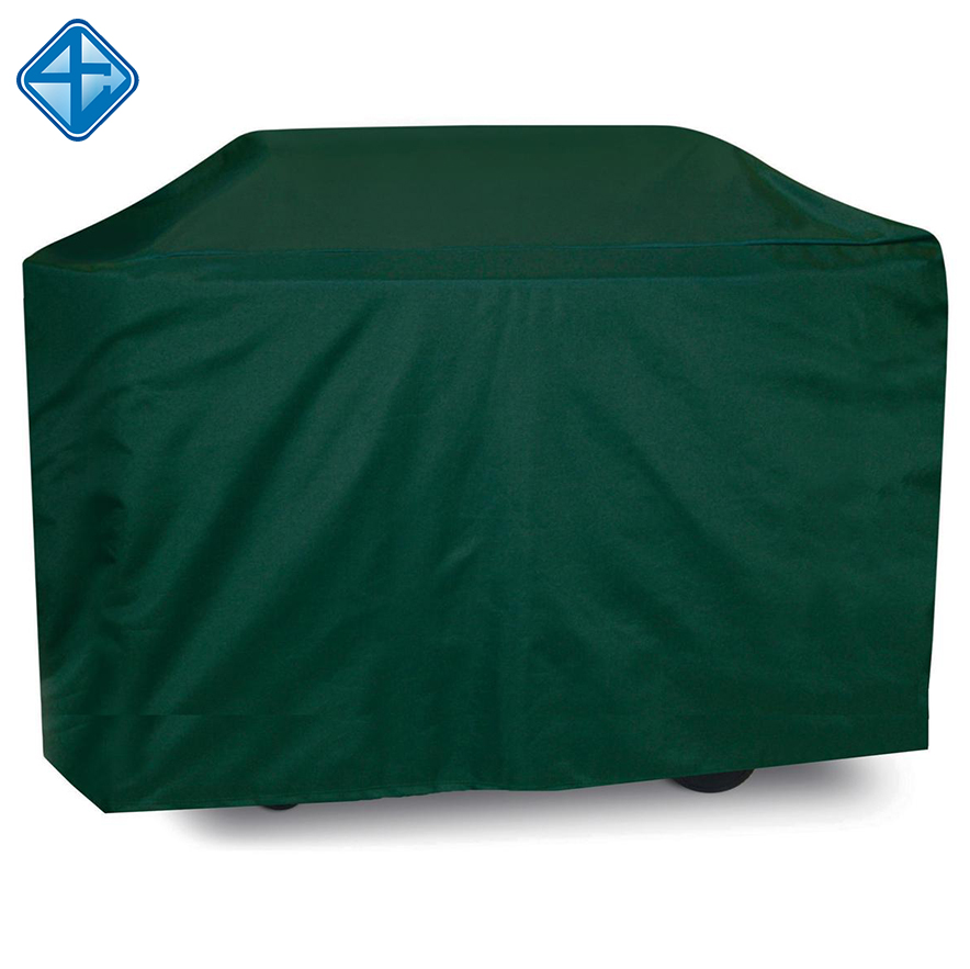 150D Outdoor Groene Polyester Waterdichte BBQ Barbecue Grill Cover