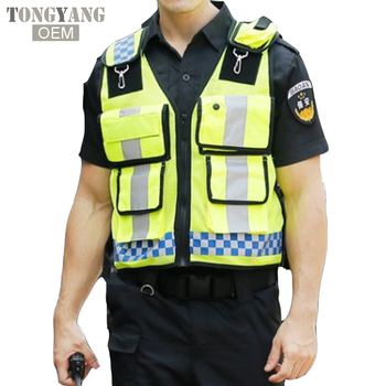 TONGYANG Hot Sell High Visibility Reflective Safety Vest With Pockets