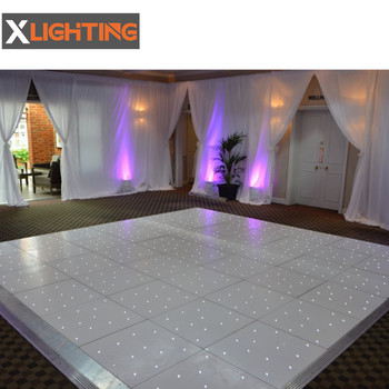 2019 starlight screen led white dance floor
