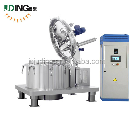 LGZ-800 series Automatic bottom discharge scraper continuous flow centrifuge