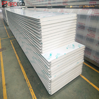high density pu sandwich panel for prefabricated interior partition walls