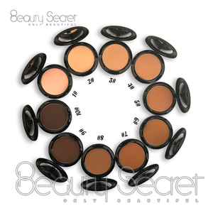 Private Label Foundation Make Up Single Shade Foundation Cream Brand Quality Powder Cake