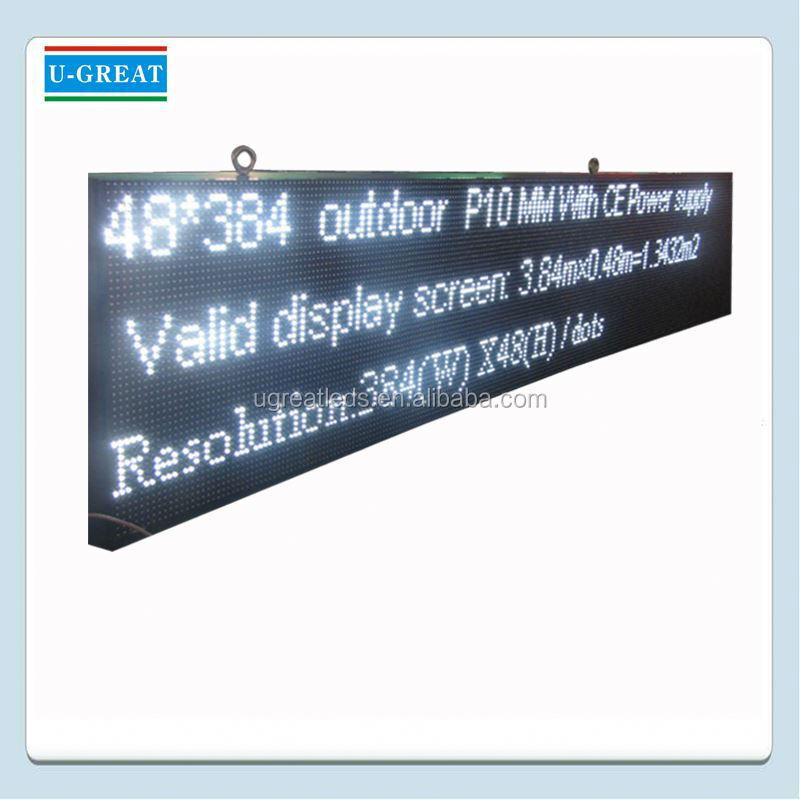 Alibaba china smart board wireless outdoor led teken displays