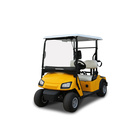 Private single seat electric golf cart for golf links