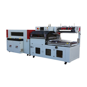Hot sale automatic POF film box heat l bar shrink sealing wrapping packing machine