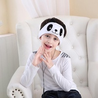 Soft sleeping headband ear phone headphone with built-in headphones head phones custom logo headset bass