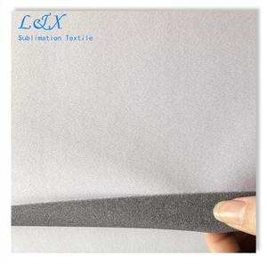 290gsm light blocking grey back display fabric for fabric tube system can be added FR B1