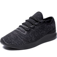 Free Sample Newest Ready Stock Lace Up Breathable Mesh Walking Shoes Sneakers Fashion