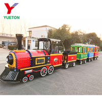 Miniature Kiddie Ride Theme Park Shopping Mall Kids Indoor Mini Express Entertainment Party Electric Trackless Train For Sale