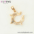 34192 Xuping wholesale fashion multicolor gold plated simple design zircon stone pendant