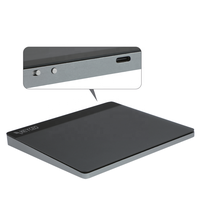 Glass surface wireless touch pad