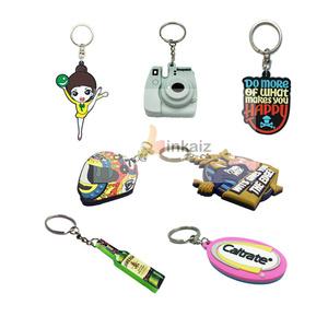 cheap price 2019 new gifts factory wholesale 2D 3D custom rubber keychain /soft pvc keychain