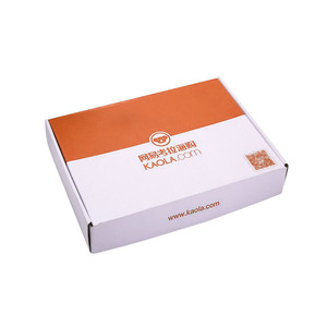 Tuck Packing Carton With All Specification Small Electronics Shipping Customize Folding Corrugated Paper Packaging Box