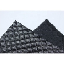 Free Sample embossed synthetic leather product pu leather for car seat cover