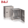 B&J Different Size IP66 Waterproof Stainless Steel Enclosure Electrical Distribution Meter Box