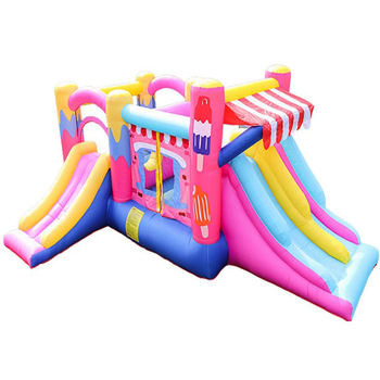 China Better Prices Commercial Grade Material Mini Adult Inflatable frozen Bouncy Castle With Air Pumps