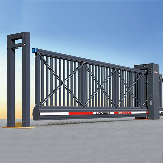 Aluminum automatic system sliding gate driveway gate