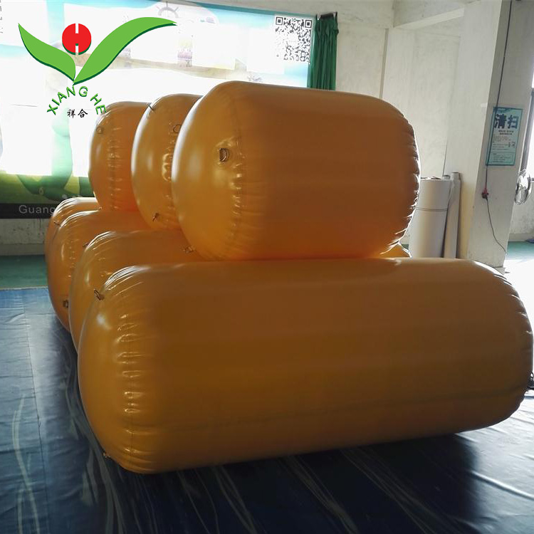 Water game Race Markers Cylinder floater buoy inflatable barrel
