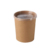 Extripod high quality kraft paper cup soup bucket with custom logo