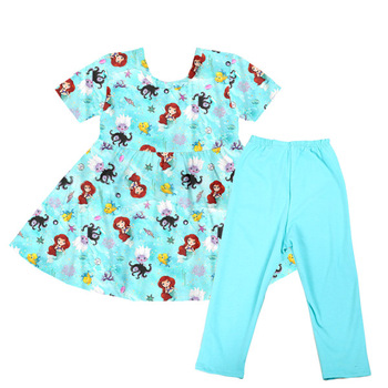 baby girls summer boutique set tunic top and short pants ruffle cute animals outfits