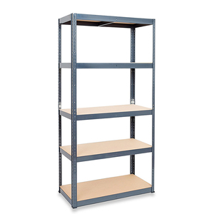 Combination 4tier metal shelf unit rack for boltless