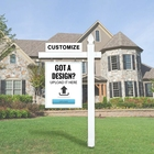 Real Estate Fentech U Channel Real Estate Sign Post