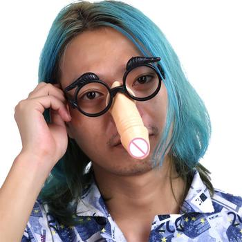 Fun Willy Penis Nose Glasses Hens Night Novelty Bachelor Party Fancy Dress