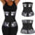 Quality Assured Plus Size Snake Printed Black Belt Women Latex Waist Trainer Belt Private Label Super Fashion