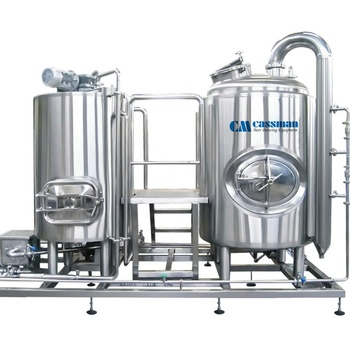 Fast delivery beer brewing equipment large brewery plant with high quality