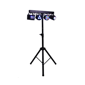 Disco Party Used Remote Control 60W RGBW 4IN1 LED Spot Par Light Can Set