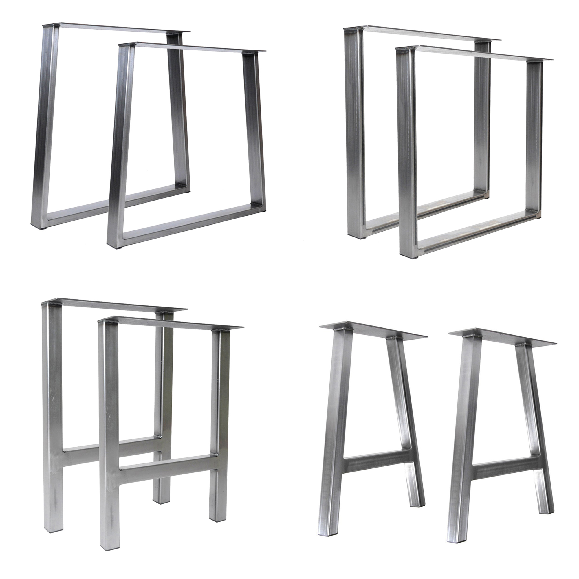 hot sale metal stainless steel table leg for furniture dining table