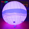 sayok customized durable advertising led light inflatable helium balloon